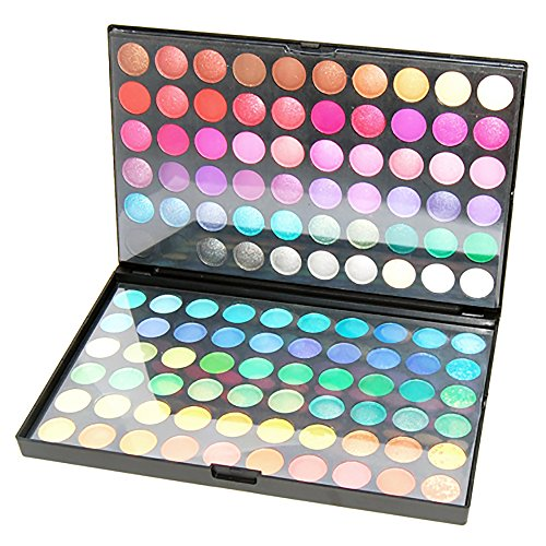 Accessotech 120 Farben Eyeshadow Lidschatten-Palette Makeup Kit Set Make Up Professional Box