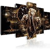 B&D XXL murando g-A-0011-b-n g-A-0011-b-o g-A-0011-b-p Abstrakt Tiere Elefant Löwen Flusspfend Nilpfend