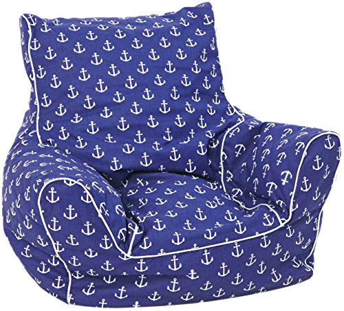 KNORRTOYS.COM 68207 Knorrtoys 68207-Kindersitzsack Kindersitzsack, Maritim Blue
