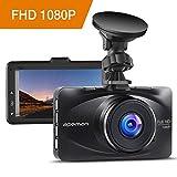 apeman Dashcam Autokamera Full HD 1080P DVR Mit 170¡ã Weitwinkel, 3' LCD Bildschirm, G-Sensor, WDR, Loop-Aufnahme, Bewegungserkennung, Parkmonitor