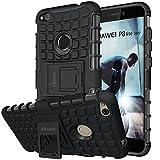 Huawei P8 Lite 2017 hülle, ykooe (Silikon Series) P8 Lite 2017 Dual Layer Hybrid Handyhülle Drop Resistance Handys Schutz Hülle mit Ständer für Huawei P8 Lite 2017