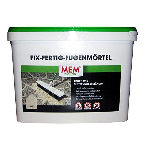 MEM Fix&Fertig Fugenmörtel, sand, keine Ameisen, keine Pfützen, kein Unkraut, 25 kg
