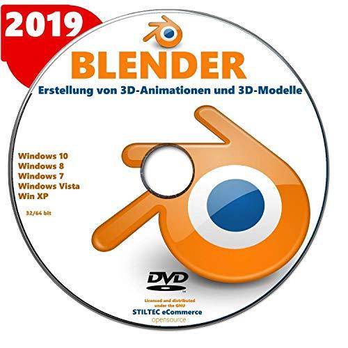 BLENDER 2019 Software zur Erstellung von 3D-Animationen und 3D-Modelle