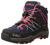 CMP Campagnolo Unisex-Kinder Rigel Trekking-& Wanderstiefel, Grau (Antracite-Red Fluo), 33 EU