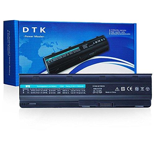 DTK Ultra Hochleistung Notebook Laptop Batterie Li-ion Akku für Hp G32 G42 G62 G4 G6 G7 ; Compaq Presario Cq32 Cq42 Cq43 Cq430 Cq56 Cq62 Cq72 ; Hp Pavilion Dm4 ;Fits Mu06 593553-001 593554 Mu09 [10.8v 6600mah 9-cell]