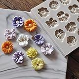 Flower silikon fondantform zuckerpaste kuchen cupcake design mat silikonform für kuchen dekorieren cupcakes sugarcraft süßigkeiten