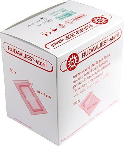 Rudavlies Steril Wundschnellverband 10 x 8 Centimeter (cm) 50 Stück