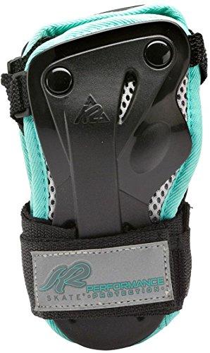 K2 Damen Schoner Performance W Wrist Guard, schwarz/türkis, M, 3041604.1.1.M