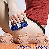 Lunata Anti Cellulite Massage Roller, Massagebürste gegen Orangenhaut, Cellulite Massagegerät
