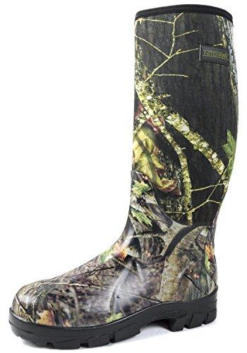 Nitehawk - Neopren-Gummistiefel für Jagd & Angeln - Camouflage-Muster - Größe 39,5