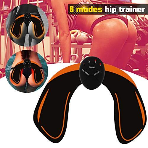 Haofy EMS Hüfttrainer, Trainingsgerät zur gezielten Stimulation der Po Muskulatur, Elektro Stimulationsgerät Po Muskeln - Fitness Training für Frauen