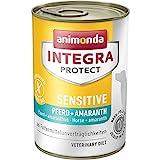 animonda Integra Protect Sensitive mit Pferd und Amaranth | Diät Hundefutter | Nassfutter bei Futtermittelallergie (6 x 400 g)