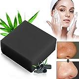 Bambuskohle Handgemachtes Seife,Bamboo Charcoal Soap,Gesicht Seife. LDreamAM Entschlackendes Gesicht & Körperreiniger.Für Akne, Ekzem, Gesichtsreinigung Behandlung für Akne Prone Haut