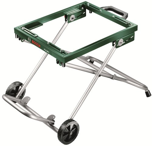 Bosch DIY Mobiles Untergestell PTA 2000, für Tischkreissäge und Unterflur-Zugsäge, Karton, (Höhe Arbeitstisch 595 mm, Traglast 125 kg)