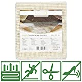 Beautissu Antirutschmatte Teppichunterlage BeauFix 80x200cm Teppichunterleger zuschneidbar & Fußbodenheizung geeignet