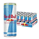 Red Bull Sugarfree Energy Drink, 24er Pack (24 x 250 ml)