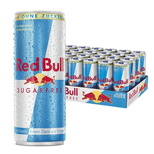 Red Bull Sugarfree Energy Drink, 24er Pack (24 x 250 ml)