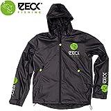 Zeck Rain Jacket - Regenjacke für Angler, Jacke für Wallerangler & Karpfenangler, Angeljacke zum Regenschutz, Anglerjacke, Größe:L