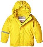 CareTec Kinder Wasserdichte Regenjacke, Gelb (Yellow 324), 80