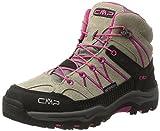 CMP Rigel Mid Wp Unisex-Kinder Trekking-& Wanderschuhe, Beige (Corda), 34 EU