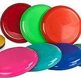 Frisbee Disc / Frisbees / Wurfscheiben farblich gemischt 10 Frisbee bunt gemsicht - Nicht geeignet als Hundefrisbee!!