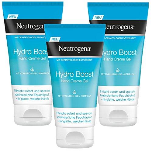 Neutrogena Hydro Boost Hand Creme Gel, 3er Pack (3 x 75 ml)