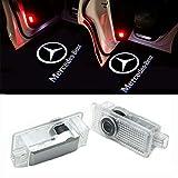 HUAYIN 2 Stück Autotür Logo Türbeleuchtung Einstiegsleuchte Projektion Licht