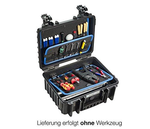 B&W Werkzeugkoffer JET 3000, 117.16/L (Lieferung erfolgt ohne Werkzeug)