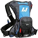 USWE Sports Erwachsene Trinksystem A3 Challenge Hydropack, Cyan/Grey, 38.0 x 32.0 x 8.0 cm, 15 Liter, 201230