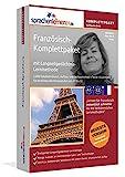 Französisch-Komplettpaket: Lernstufen A1 bis C2. Fließend Französisch lernen mit der Langzeitgedächtnis-Lernmethode. Sprachkurs-Software auf DVD für Windows/Linux/Mac OS X