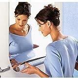 1 Stk Spiegelfolie Wandaufkleber Selbstklebende Spiegel Folie - Spiegel Wandaufkleber Rechteck selbstklebende Raum Dekor Stick auf Kunst (60 * 100cm, B)