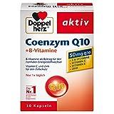 Doppelherz Coenzym Q10 + B-Vitamine / Nahrungsergänzungsmittel mit Q10 / Mit Vitamin B1, B2, B6, C und Biotin für den Energiestoffwechsel und das Nervensystem / 1 x 30 Kapseln