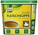 Knorr Klare Fleischsuppe 880 g, 1er Pack (1 x 0.88 kg)