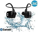 i360 Bluetooth 8GB wasserdichte MP3-Player-Ohrhörer Ohrhörer Headset (Black Edition) Hören Sie Ihre Musik, während Schwimmen / Laufen / Training / Gym Fuss frei ohne eine Schnur! Unterwassersport-MP3-