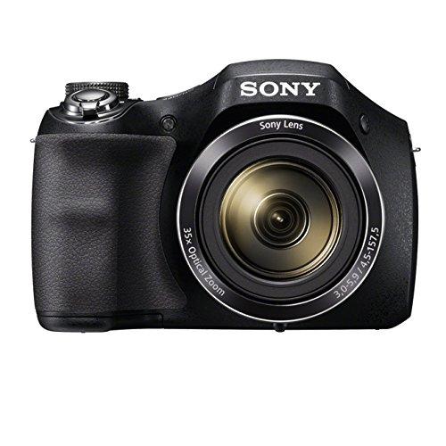 Sony  Einstiegsbridge DSC-H300 (20.1 MP CCD Sensor (effektiv), 25mm Weitwinkel-Objektiv, Optischer Bildstabilisator 'SteadyShot'HD) schwarz