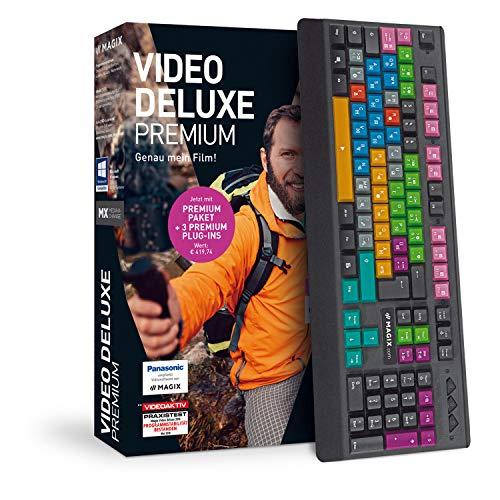 MAGIX Video deluxe 2019 Control – Das Komplettpaket für anspruchsvolle Videoproduktionen. Standard 1 Device 1 Year PC Disc Disc