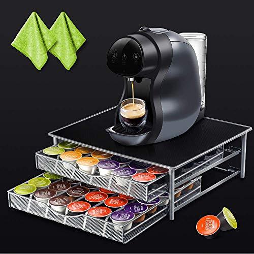 Masthome Kaffee Kapselhalter zur Aufbewahrung für Kaffeekäpseln,Kaffee Schublade Dolce Gusto Kapsel,rutschfeste Oberfläche