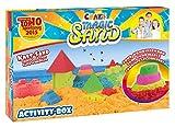 Craze 52700 - Magic Sand Activity-Box., ca. 700g Sand. Verschiedene Ausführungen. Sortiert