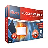 The HEAT company Rückenwärmer Wärmekissen Körperwärmer XL (20x13cm) Apotheke 18 Std. Wärmedauer 3 Stück BOX