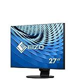 Eizo EV2785-BK 68,4 cm (27 Zoll) Monitor (HDMI, USB 3.1 Typ C, DisplayPort, 5ms Reaktionszeit, 3840 x 2160 (4K UHD)) schwarz