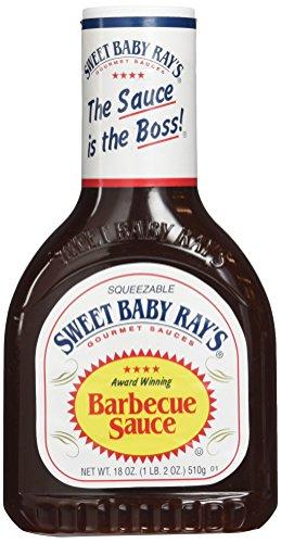 Sweet Baby Ray's BBQ Sauce - Original, 1er Pack (1 x 510 g Flasche)