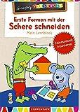 Erste Formen mit der Schere schneiden: Mein Lernblock (Lernerfolg Vorschule)