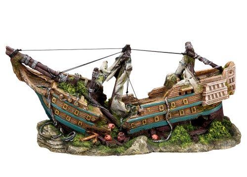 Nobby 28150 Aquarium Dekoration Aqua Ornaments, Boot