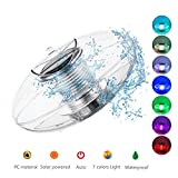 Linkax Poolbeleuchtung Pool Licht Wasser Schwimmende Lampen Solar Schwimmkugel Wasserdicht Teichbeleuchtung Farbwechsel für den Garten Baum Teich Swimming Pool