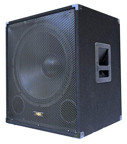 E-Lektron SUB-P45A aktiver PA-Subwoofer 18' / 45cm Bass Lautsprecher Box 1000W