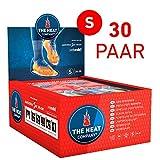 THE HEAT COMPANY Sohlenwärmer - EXTRA WARM - Wärmesohlen - Fußwärmer - 8 Stunden warme Füße - sofort einsatzbereit - luftaktiviert - rein natürlich - Größe SMALL: 36-38 - 30 Paar