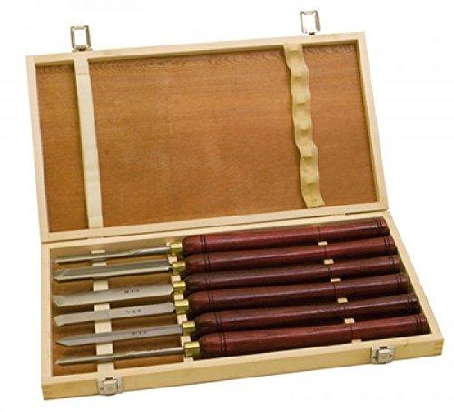 Scheppach 88002717 Werkzeugsatz HS 6tlg. 470mm f. Drechselmaschine DM460t