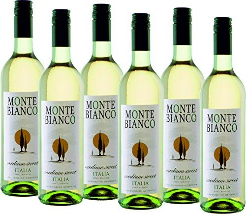 Monte Bianco Weißwein lieblich (6 x 0.75 l)