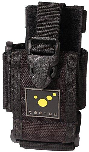 tee-uu RING Smartphone-Holster (geeignet für Geräte mit Umfang bis 16cm und Länge bis 16cm)