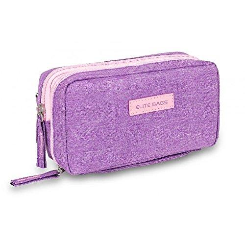 Isotherme-Tasche für Diabetiker | Diabetic's | Elite Bags | Violett Farben | Für Insulininjektionsgeräte und Blutzuckermessgeräte